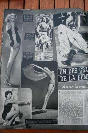 Marilyn Monroe Abbe Lane Cyd Charisse