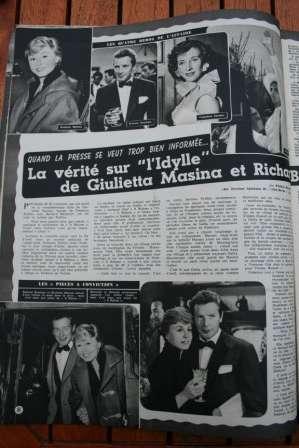 Giulietta Masina Richard Basehart