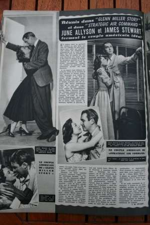 June Allyson James Stewart