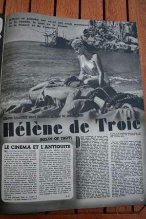Helen Of Troy Rossana Podesta Jacques Sernas