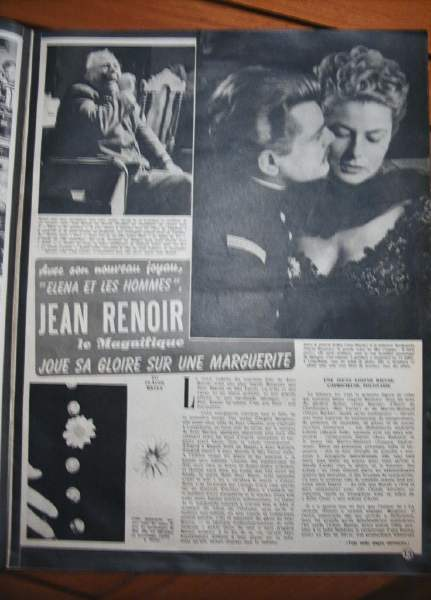 Jean Marais Ingrid Bergman
