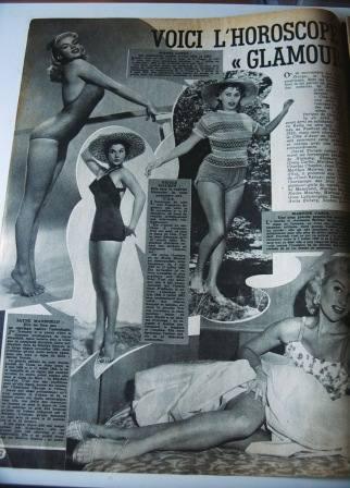 Jayne Mansfield Sophia Loren Martine Carol