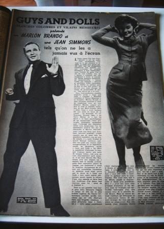 Marlon Brando Jean Simmons