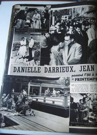 Danielle Darrieux Jean Marais Yves Ciampi