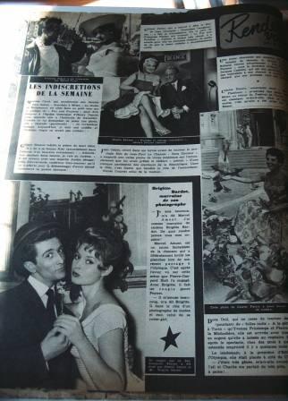 Brigitte Bardot Marcel Amont