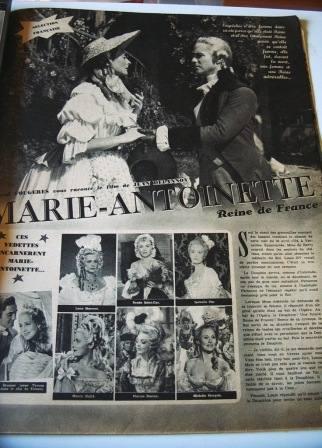 Marie Antoinette Michele Morgan Lana Marconi