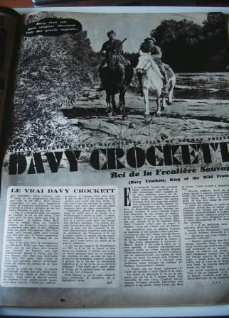 Fess Parker Buddy Ebsen Davy Crockett