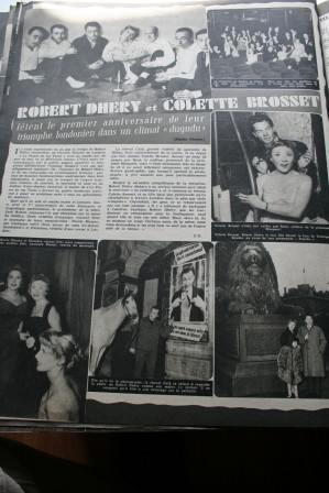 Robert Dhery Colette Brosset