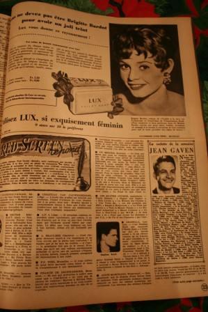 Brigitte Bardot Lux Ad