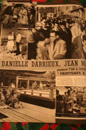 Jean Marais Danielle Darrieux Yves Ciampi