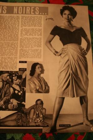 Dorothy Dandridge Rama Tahe Josephine Baker