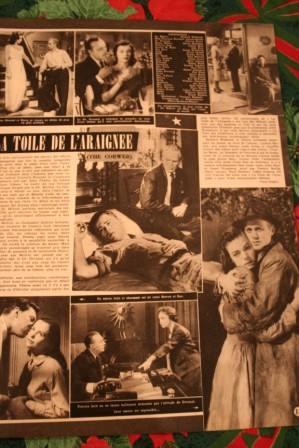 Richard Widmark Lauren Bacall Charles Boyer