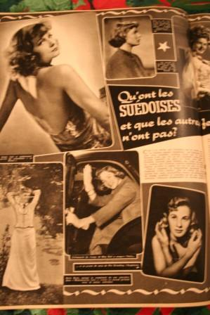 Greta Garbo Ingrid Bergman Mai Britt Anita Bjork