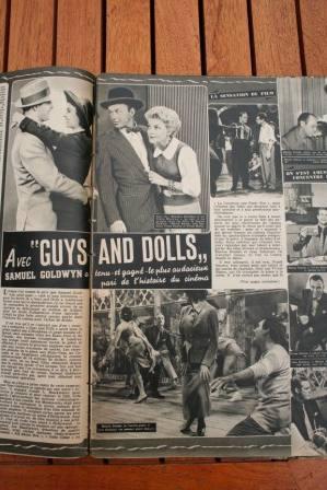 Frank Sinatra Vivian Blaine Jean Simmons Brando