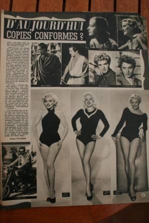 Marilyn Monroe Diana Dors Sheree North