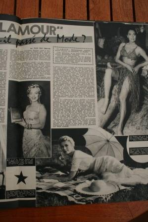 Marilyn Monroe Grace Kelly Ava Gardner