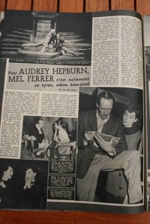 Audrey Hepburn Mel Ferrer
