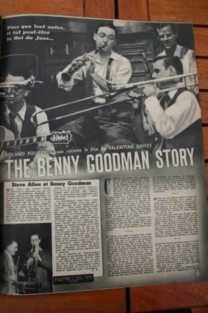 Steve Allen Donna Reed Benny Goodman Story