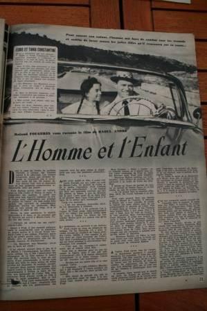 Eddie Constantine Juliette Greco Folco Lulli