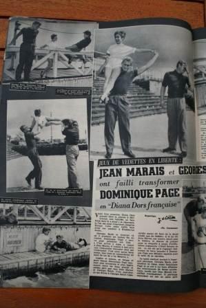 Jean Marais Georges Reich Dominique Page