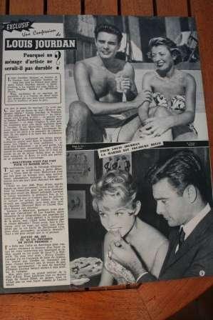 Brigitte Bardot Louis Jourdan