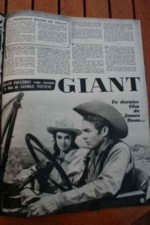James Dean Liz Taylor Giant