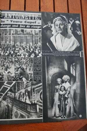 Michele Morgan Marie Antoinette