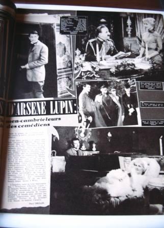 Arsene Lupin Robert Lamoureux Liselotte Pulver