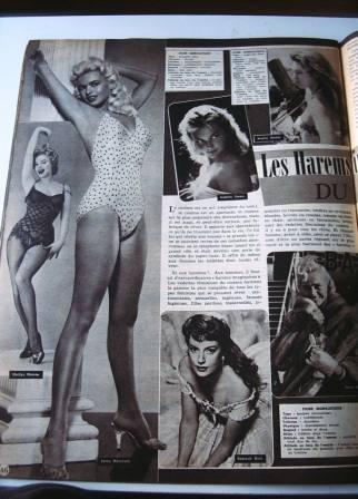 Jayne Mansfield Marilyn Monroe