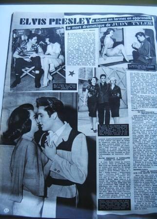 Elvis Presley Judy Tyler