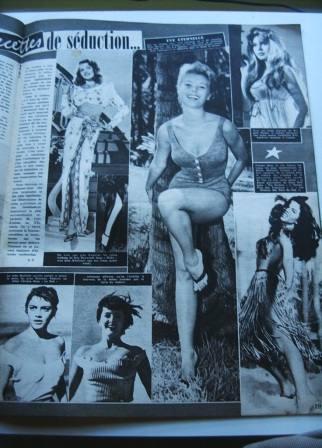 Rita Hayworth Mitzi Gaynor Brigitte Bardot