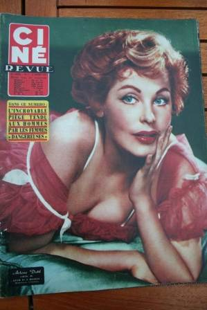 Arlene Dahl (spot on cover)