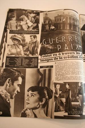 Audrey Hepburn Henry Fonda War And Peace