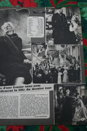 Ingrid Bergman Yul Brynner Anastasia
