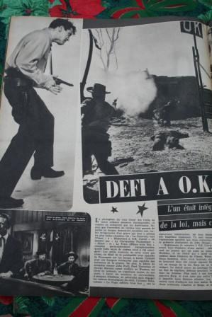 Kirk Douglas Burt Lancaster Gunfight O.K. Corral