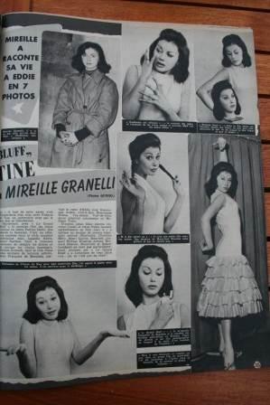 Eddie Constantine Mireille Granelli