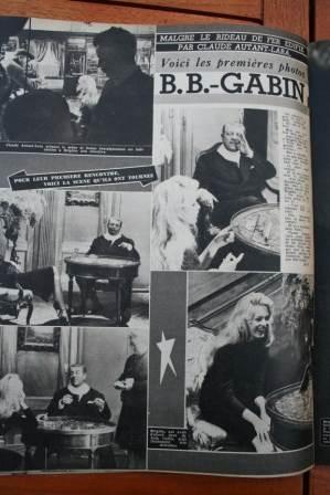 Brigitte Bardot Jean Gabin