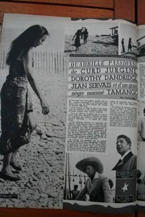 Dorothy Dandridge Curd Jurgens Tamango