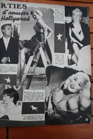 Marilyn Monroe Martha Hyer Mamie van Doren