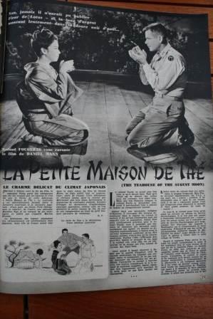 Machiko Kyo Marlon Brando Glenn Ford