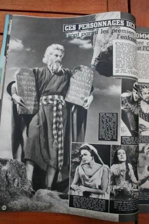 Yul Brynner Charlton heston The Ten Commandments