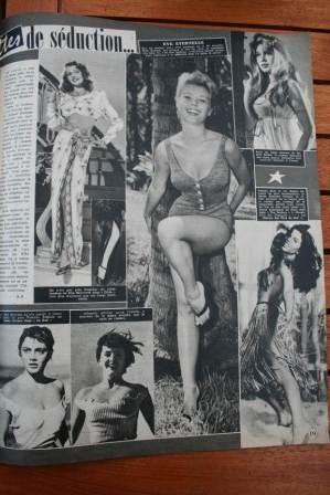 Mitzi Gaynor Rita Hayworth Brigitte Bardot