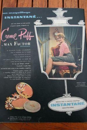 Brigitte Bardot Max Factor