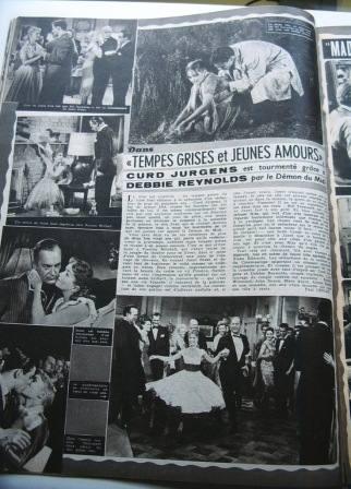 Debbie Reynolds Curd Jurgens