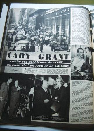 Cary Grant Alfred Hitchcock