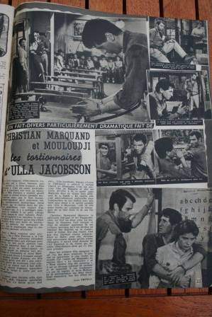 Ulla Jacobsson Christian Marquand Mouloudji