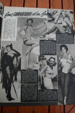 Joan Collins Natalie Wood Cleo Moore Terry Moore