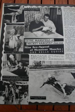 Jayne Mansfield Mickey Hargitay