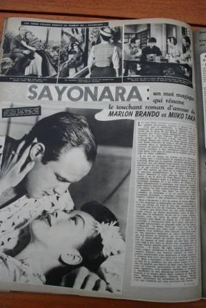 Miiko Taka Marlon Brando Sayonara