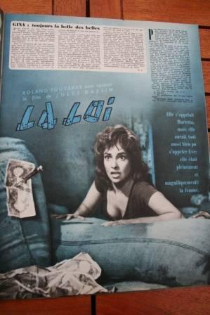 Gina Lollobrigida Marcello Mastroianni